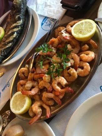 Half a kilo prawns Adega da Marina